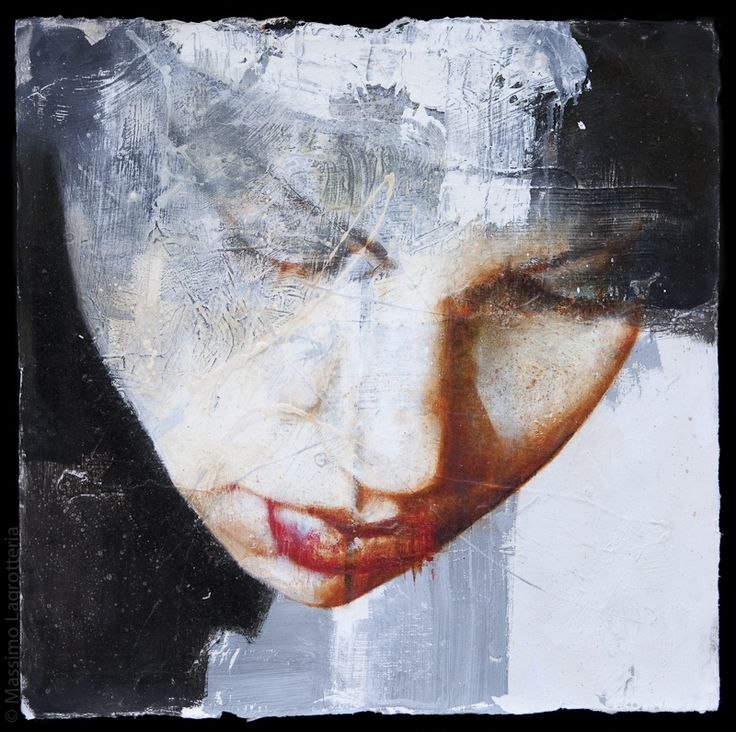 title unknown ~ mixed media ~ by massimo lagrotteria