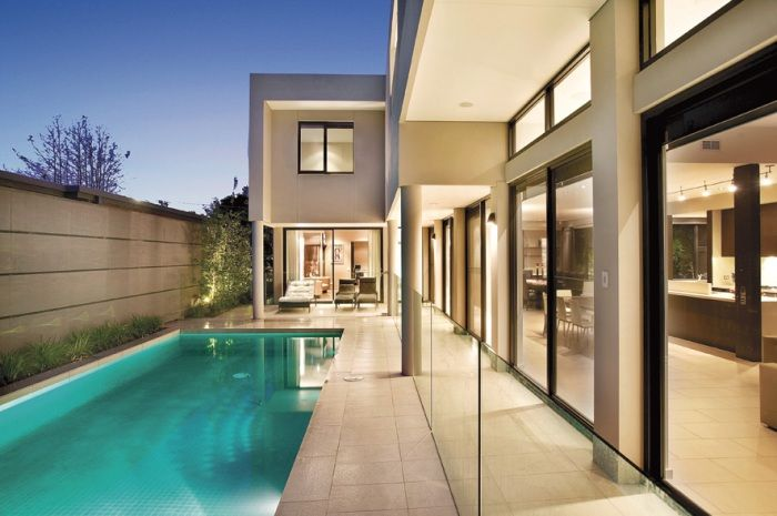 Pool Design, Modern Home  Constructed by Classic Projects
