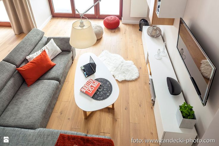 *mieszkanie kraków dębniki - zdjęcie od d e s e n i e - Salon - Styl Skandynawski - d e s e n i e
