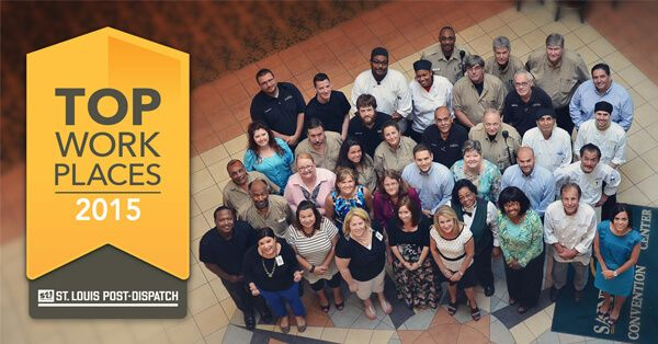 The St. Charles Convention Center is a 2015 St. Louis Post-Dispatch Top Workplace!  The facility received 12th in the Small Business category. #TopWorkplaces #StLouis #Events