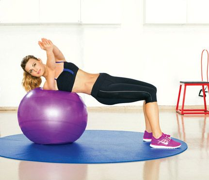 At-Home Workout: Workouts: Self.com : Get a sick, gymworthy body without leaving your door! Actress Brooke D'Orsay (USA Network's Royal Pains demos the moves that keep her trim (and shares a peek into her amazing home gym!).    #SelfMagazine