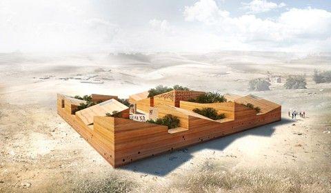 Architettura sostenibile e inclusiva, una scuola per la striscia di Gaza - Architetti