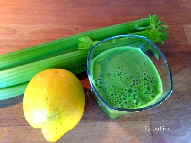 Paleolivet: Grøntsagsboost med grøn juice