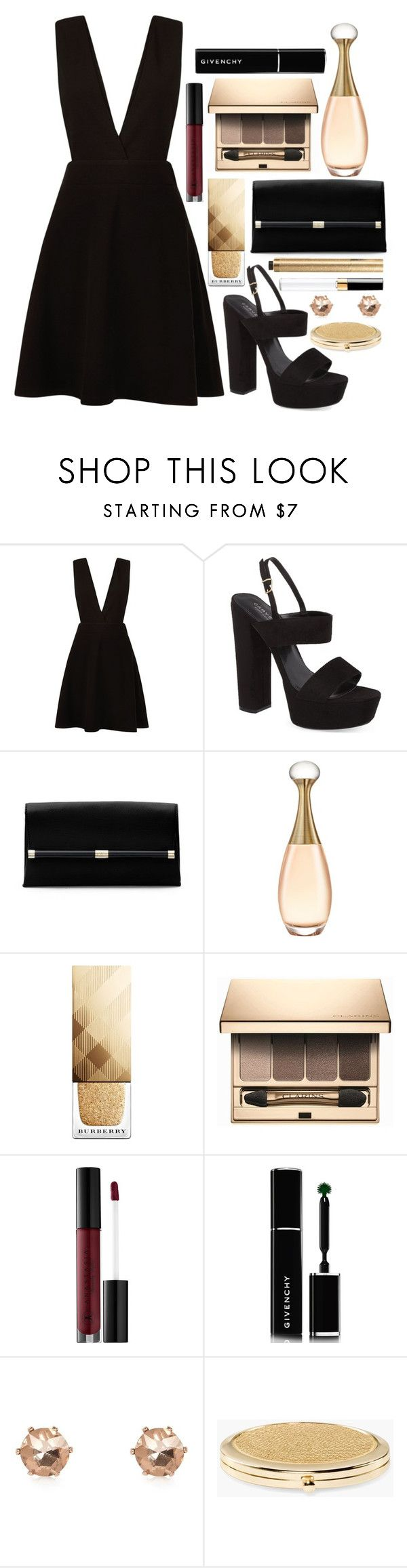 """#74"" by nastya097 ❤ liked on Polyvore featuring New Look, Carvela, Diane Von Furstenberg, Christian Dior, Burberry, Clarins, Anastasia Beverly Hills, Givenchy, River Island and Chico's"