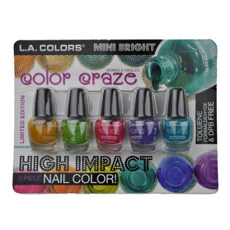 4-Hour Flash Giveaway- Nail Polish Set- Ends at midnight! US only