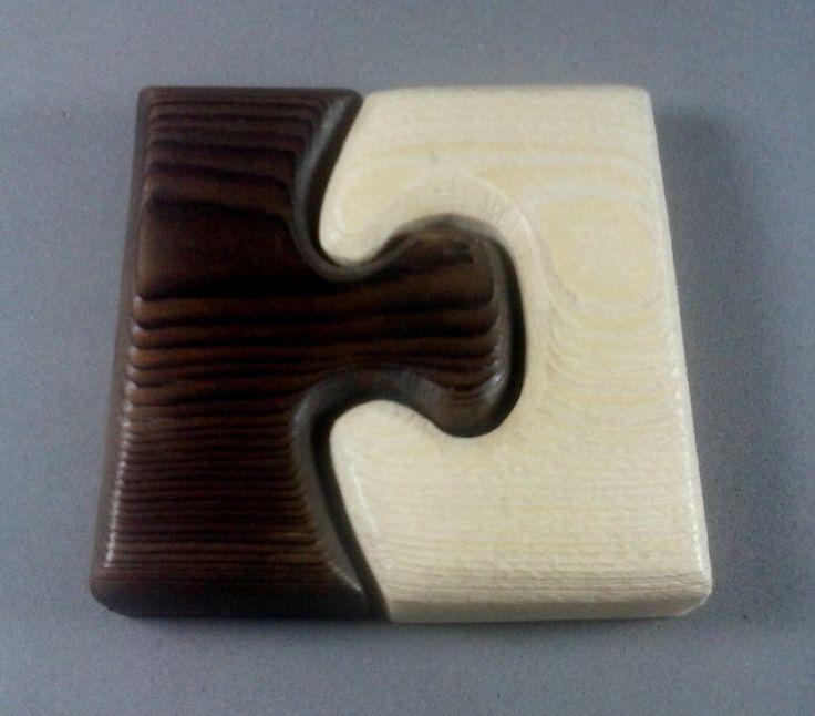 puzzle en pino yakisugi