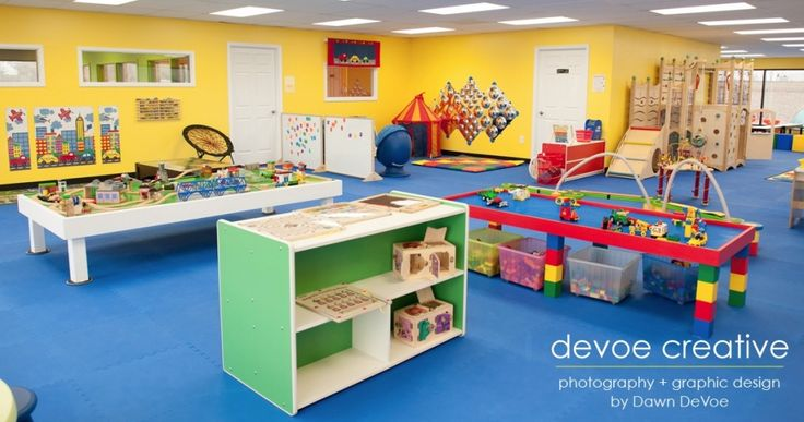 A small section of the playroom
