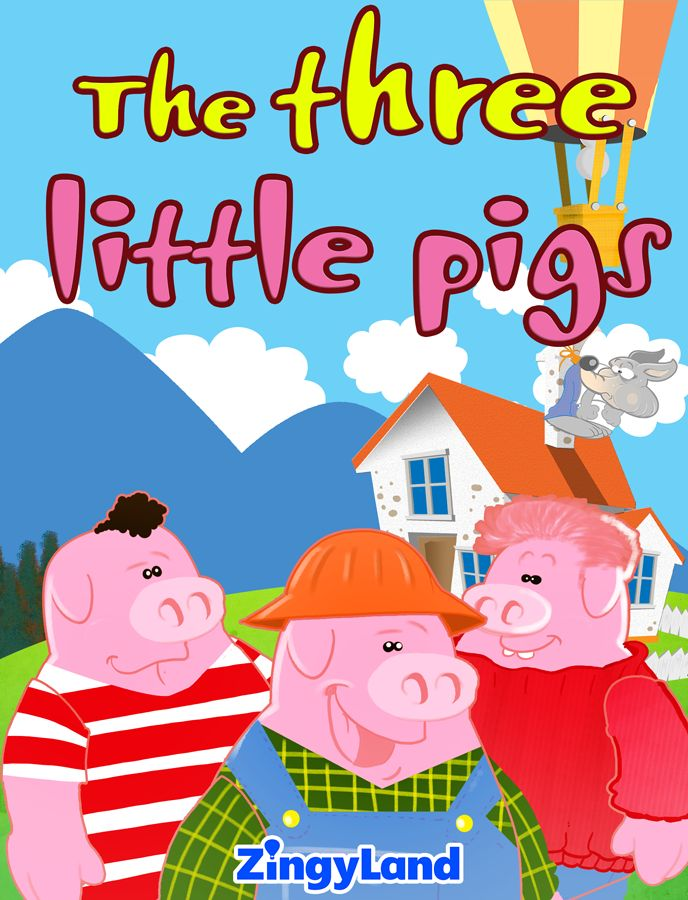Every pig followed its own decision and the end is well-known to all of us! Enjoy the classic story with awesome illustrations and interactive features.