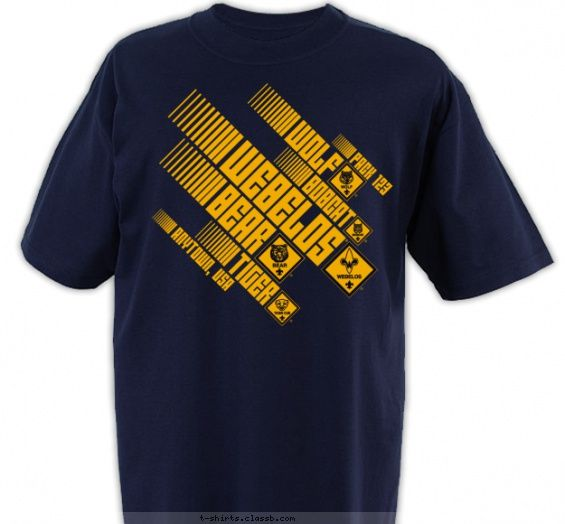 Angled Cub Scout Ranks - Cub Scout™ Pack Design SP3519: Tees Shirts, Minimum Order, Scouts Packs, Tshirt Design, Packs Design, Club Design, T Shirts, Cubs Scouts Trad, Shirts Design