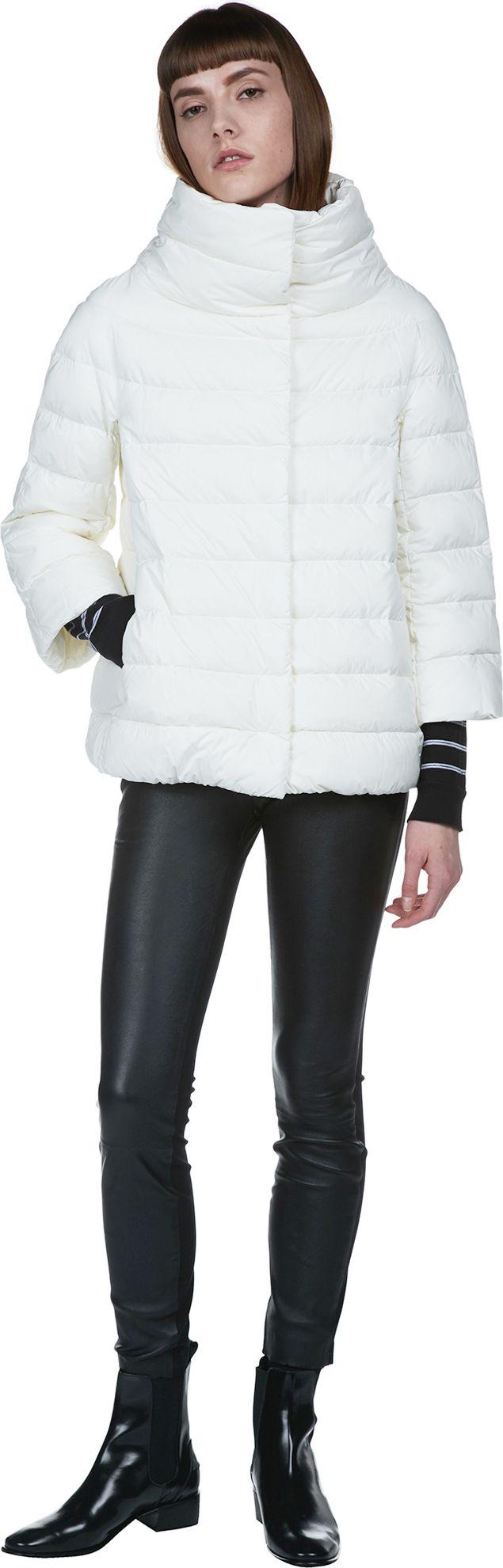 Classic Matte Nylon Cocoon Jacket | Herno | LOIT