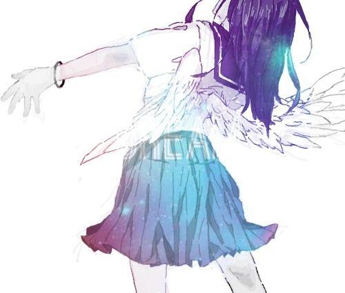 Immagine di angel girl, beautiful, and manga