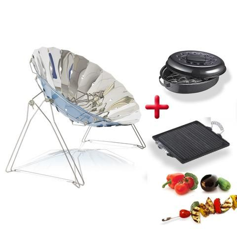 KIT Barbecue solaire COOKUP INOX + accessoires (mais no link)