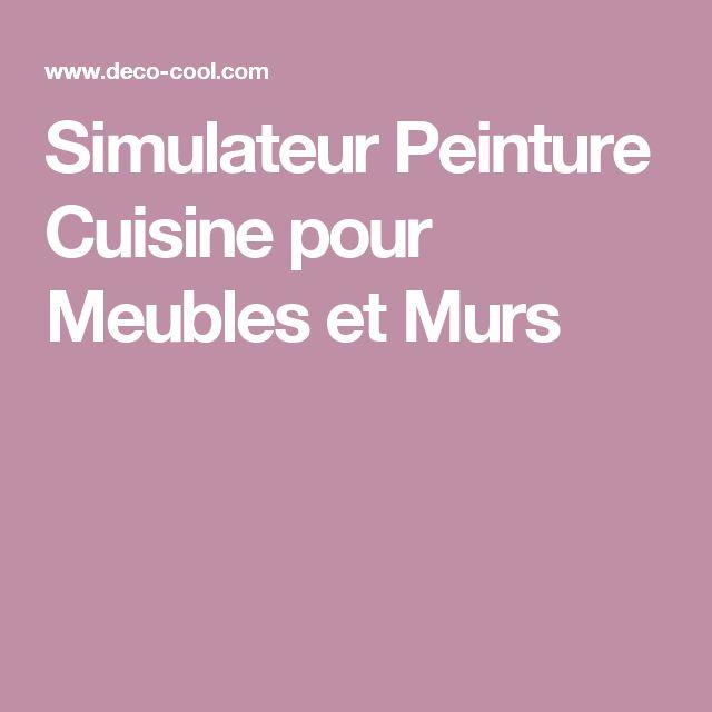 Les 25 meilleures id es de la cat gorie simulateur cuisine sur pinterest simulateur peinture - Simulateur peinture murale ...