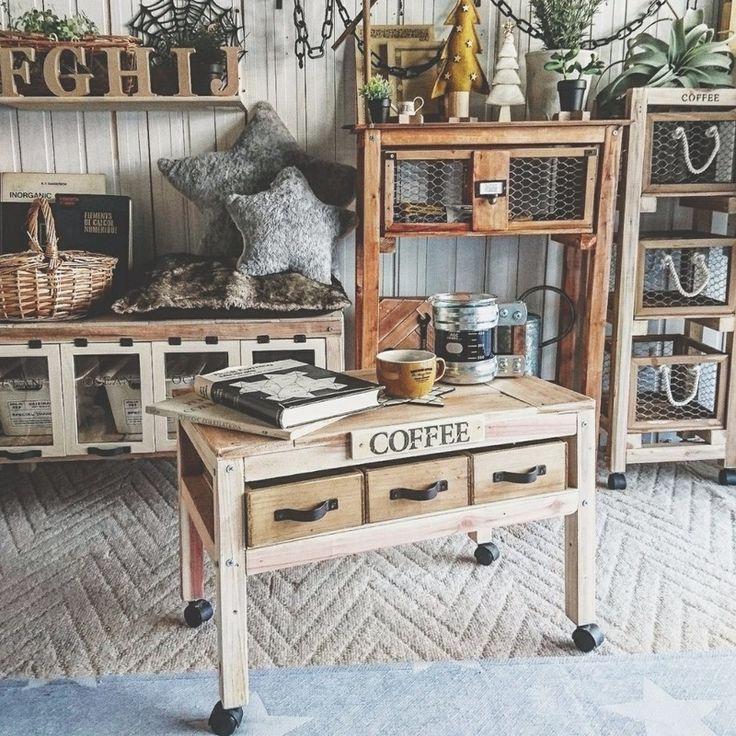 百均の材料だけでできる!両面使える引き出し付き収納カフェ風ミニテーブル! LIMIA (リミア)