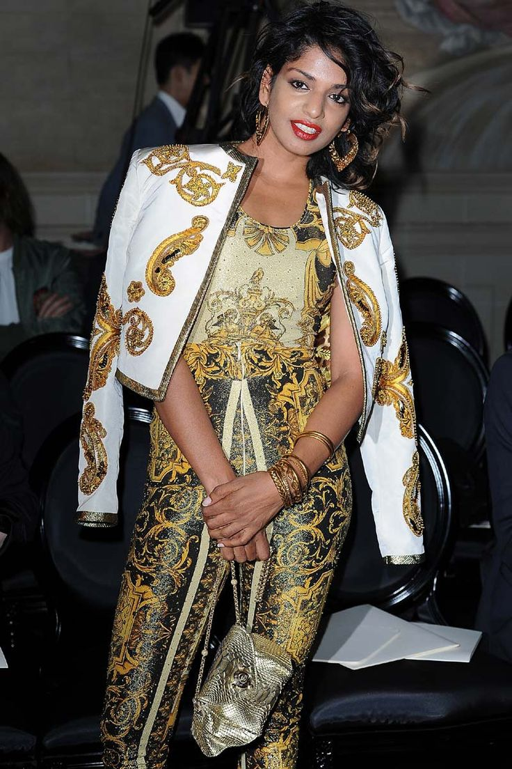 El nuevo Barroco: M.I.A. de Versace: Girls Crushes, Style, Paris France, M I A, Paris Fashion Weeks, Fall Winter, My, Versace Haute Couture, Front Row