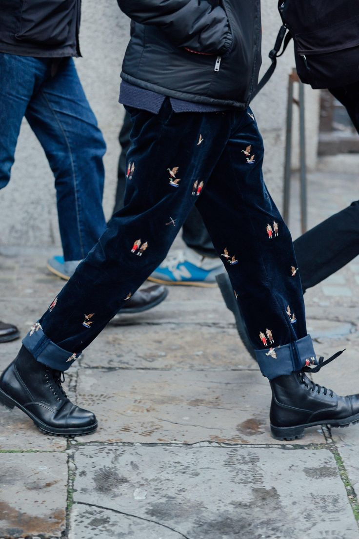 Street style inspiration for days–direct from the men's shows in Florence