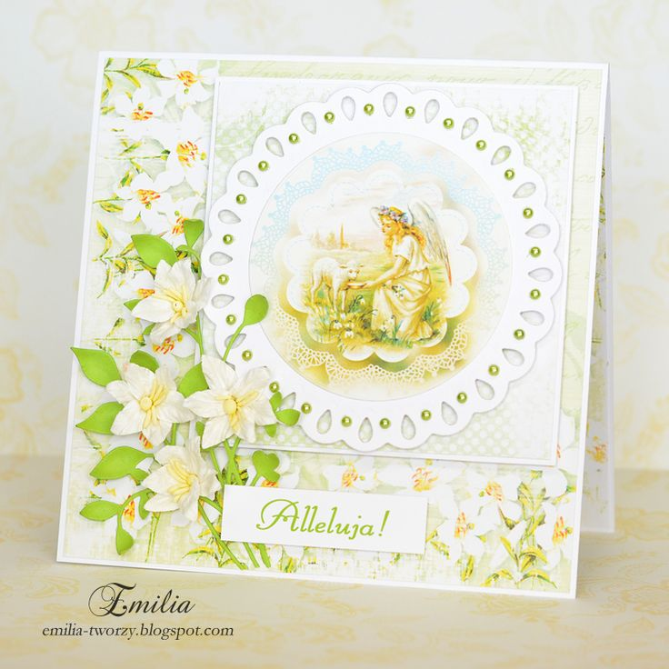 Alleluja! Kartka Wielkanocna/Easter card