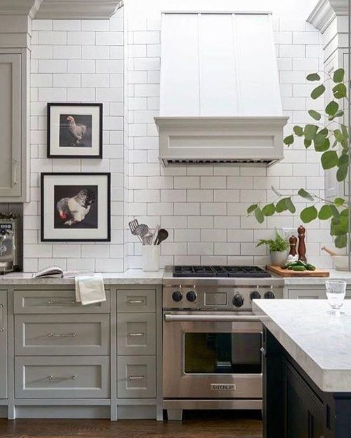 morning inspiration love this simply beautiful kitchen using artwork in your kitchen is such