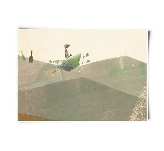 Out to Sea - Limited Edition Fine Art Print
