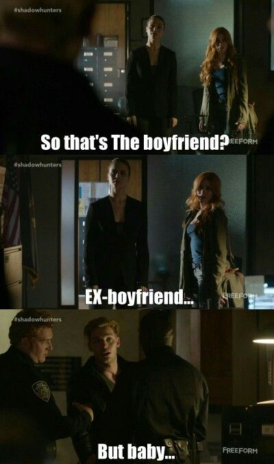 Season 1 Episode 7: Clary and Jace