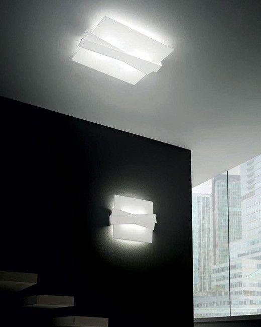 """ZigZag"" #ceiling #light #design #modern #Besanza https://www.lampadaribesanza.com/en/zig-zag-ceiling-light.html"