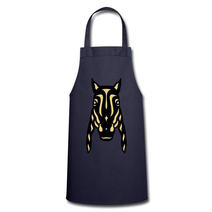 Kochschürze | Pferdegesicht Rick 3F von Manuel Süess | Mehr: https://shop.spreadshirt.de/PferdeDesigns/kochschuerze+pferdegesicht+rick+3f-A109789836