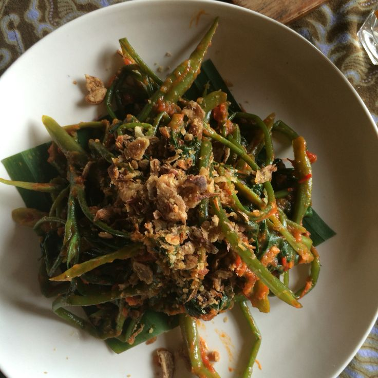 Spicy delicious Kangkung - Balinese water spinach