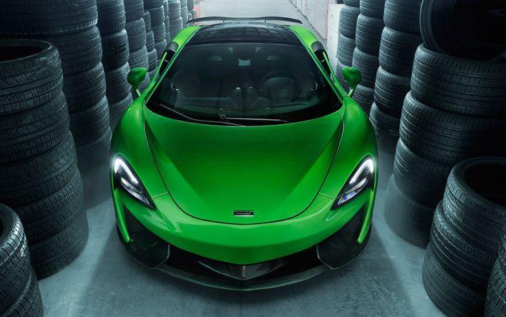Lataa kuva Novitec, tuning, 4k, McLaren 570GT, 2017 autot, superautot, McLaren