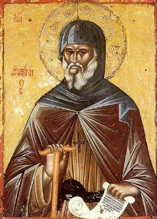 Sant'Antonio il Grande - di sant'Atanasio di Alessandria - Tradizione Cristiana