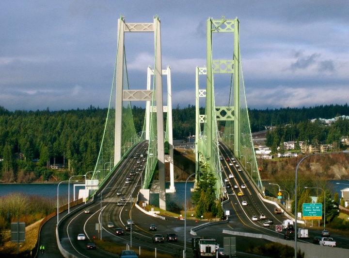 The Narrows Bridge  Tacoma, WA