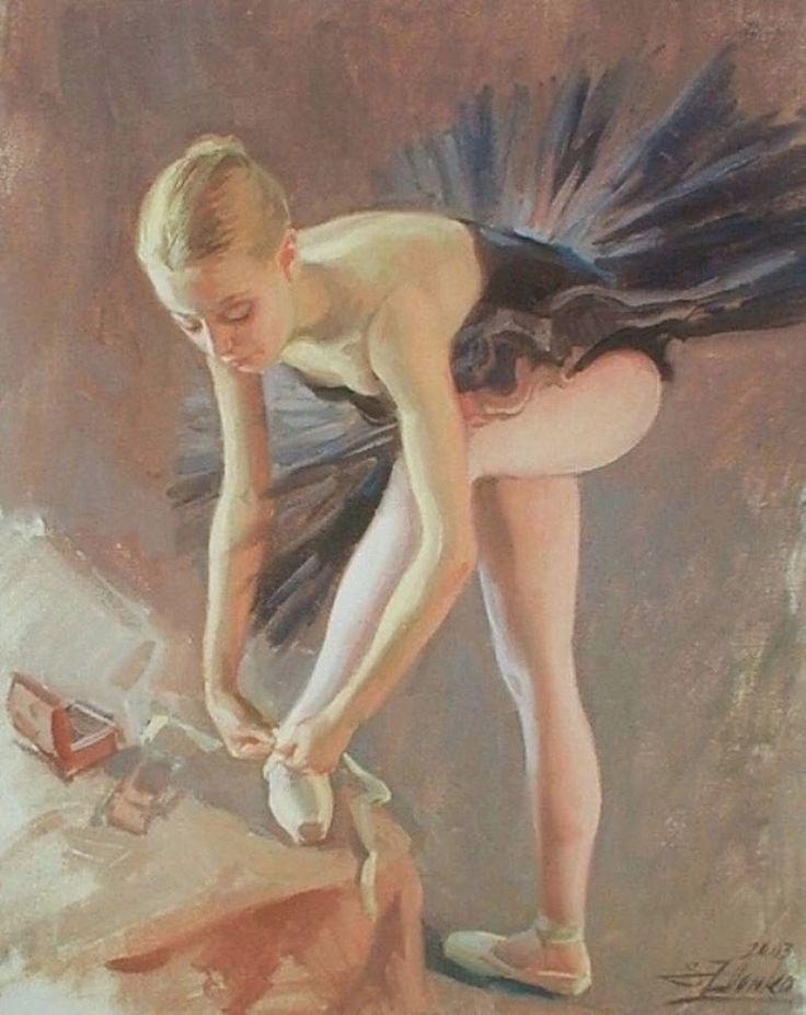 D.W.C. Ballerina - Painter Serguei Zlenko | DANCE WITH COLORS