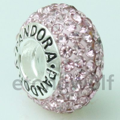 Love this pink sparkly Pandora charm! cheap!!! $12.99 pandora are on sale!!!!!!! www.pandoratoyou.com