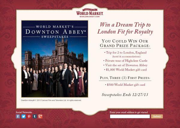 World Market Downton Abbey Holiday Happenings #DoTheDownton | Seattle Lifestyle Blog ad