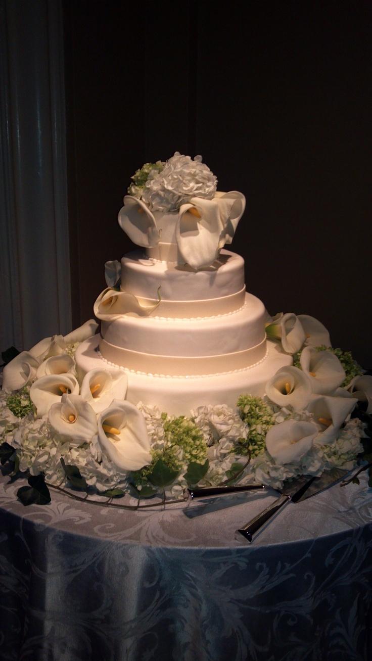 Calla Lilly Wedding Cake Glen Cove Mansion Cake Ideas