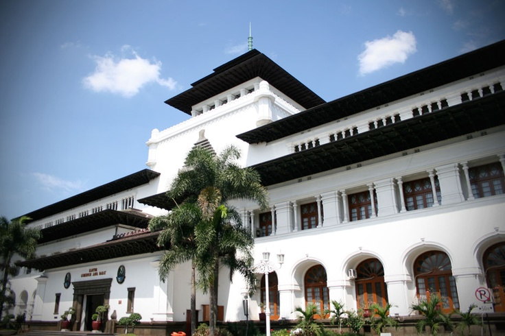 Gedung Sate, the most iconic Landmark of Bandung, is a representation of the city's rich colonial heritage.