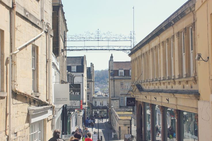 day trip to bath - city centre - view - architecture