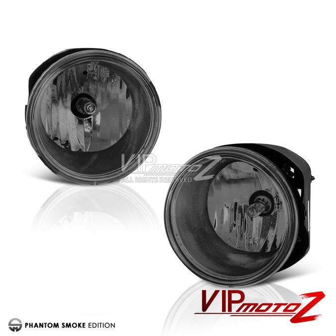 Smoke L+R Fog Light Drivng Lamp+Wiring/Switch 07-09 Dodge Durango/Chrysler 300 #VIPMOTOZ