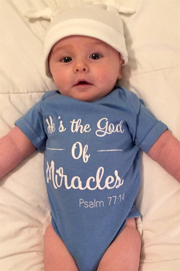 Bible Verse Baby Onesies | Newborn - 24M