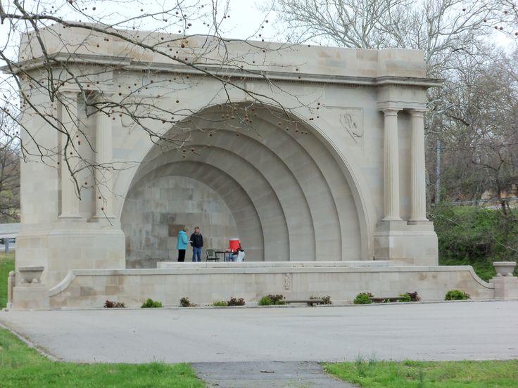 Band Shell, Otis Park, Bedford, Indiana