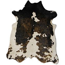 FAUX cowhide rug, get the look without harming a cow