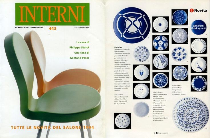 Gianni Veneziano   1994 Interni 446