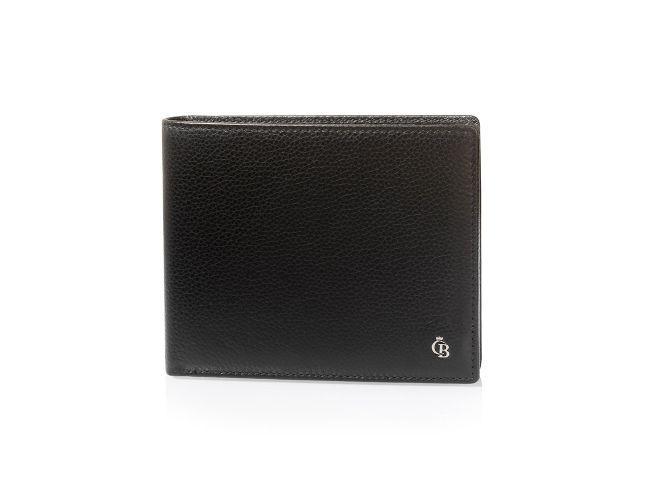 RFID 11 Card Billfold Wallet: RFID sicherer Geldbeutel mit 9 Kartensteckfächern, einem Kleingeld- und einem Scheinfach.