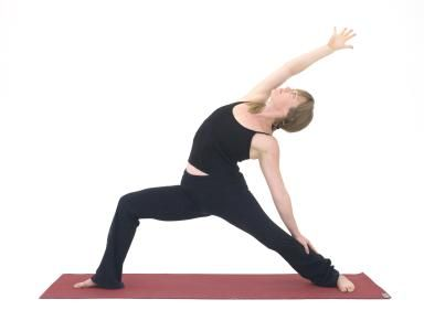 do reverse warrior pose to bend the rib muscles  basic