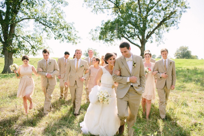 blush and gold with khakis suits when he weddings me
