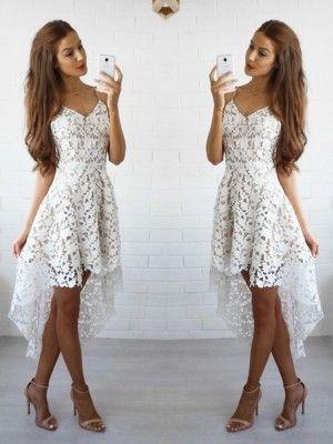 Kleid kurz spaghettitrager