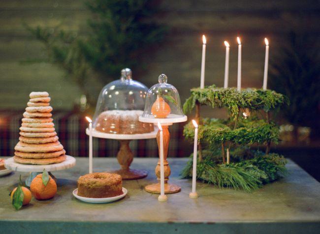 ¿Te casarías en Navidad? 25 detalles decorativos que te convencerán Image: 23