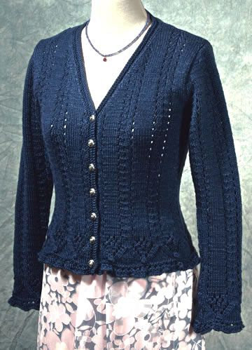Knitting Pattern Lace Jacket : 1000+ images about Lady knits on Pinterest Cable, Drops design and Yarns