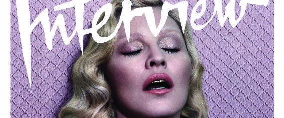 Madonna Poses Topless For Interview, Talks Drug Use
