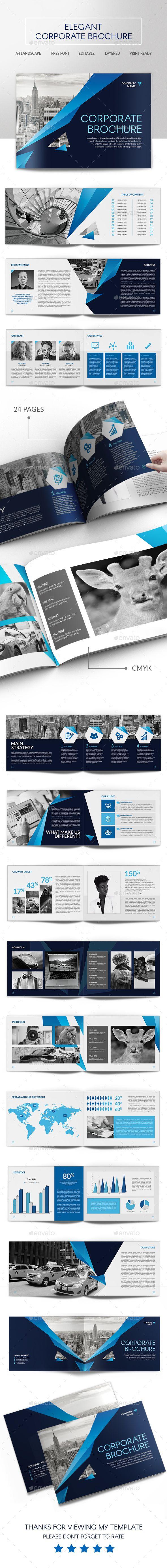 Elegant Corporate Brochure - Corporate Brochures