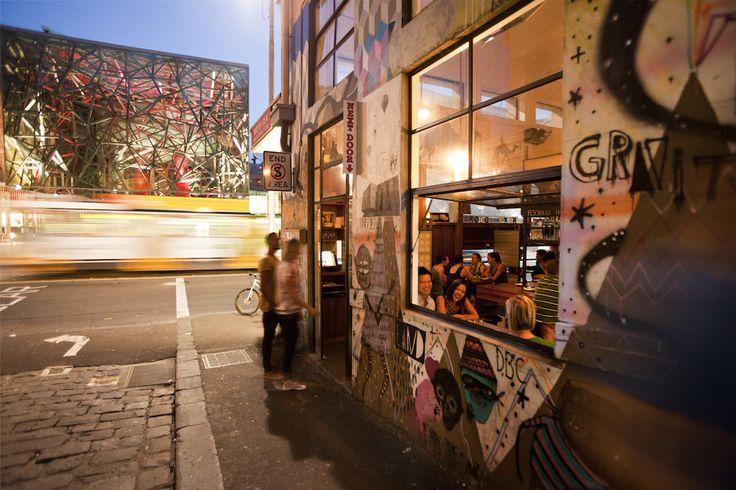 Street art, Movida Next Door, Hosier Lane, Melbourne